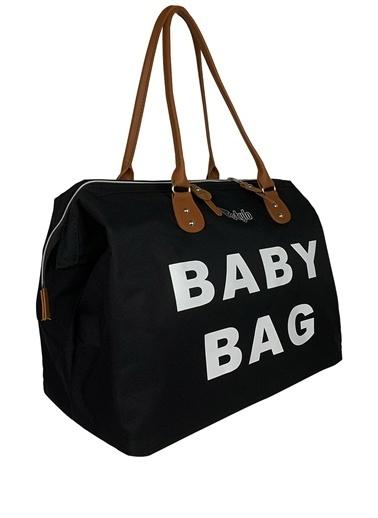 Stylo Baby Bag Anne Bebek Bakım Çantası Siyah